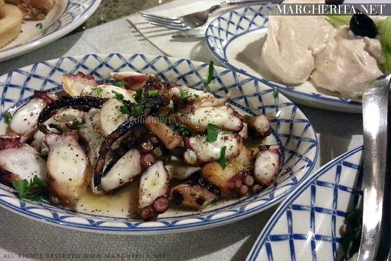 Ristorante Meltemi a Rodi - La cucina greca tradizionale