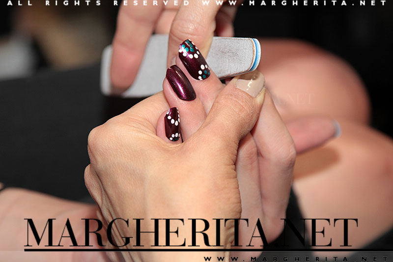Nail art: Antonio Sacripante, beauty&nails