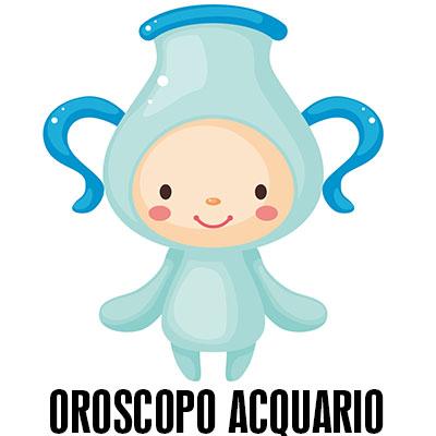Oroscopo dell'acquario