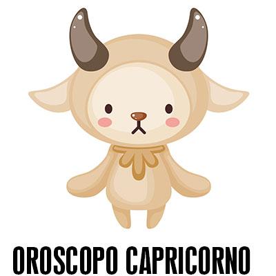 Oroscopo del capricorno