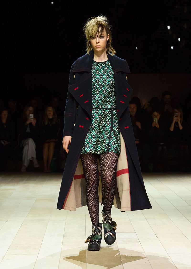 Burberry autunno 2016