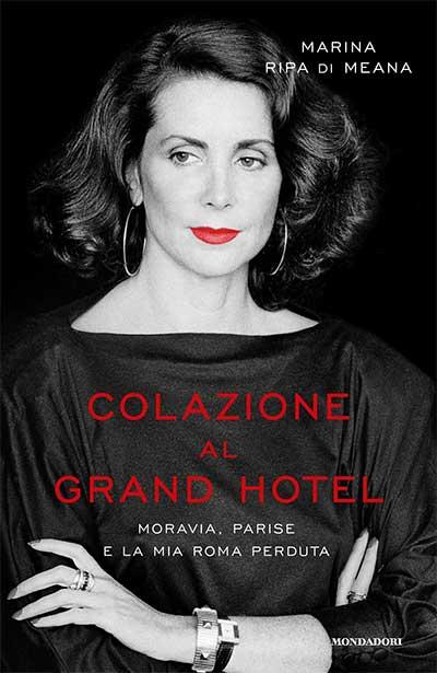 Marina Ripa Di Meana Colazione al Grand Hotel