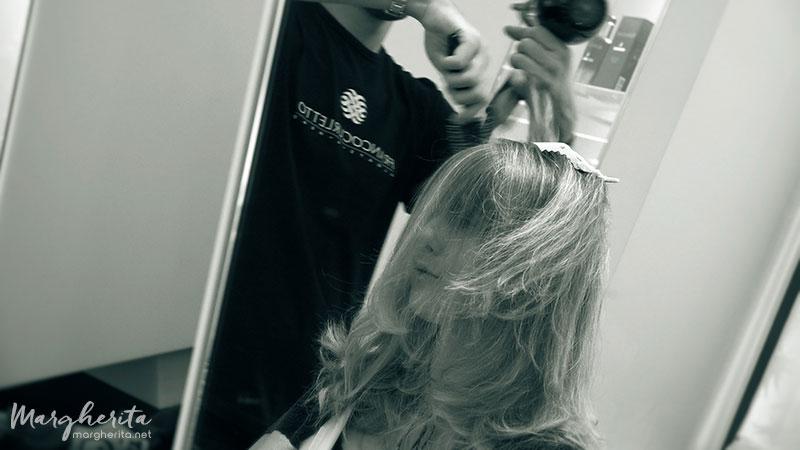 Total hair makeover. Nuovo colore, nuova frangia, nuovo taglio di capelli con Franco Curletto - Hair Stylist