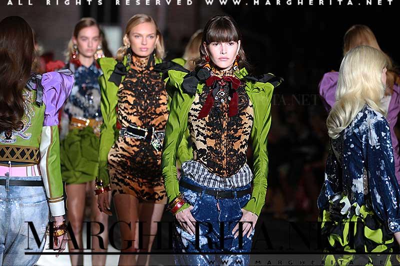Il verde colore di moda