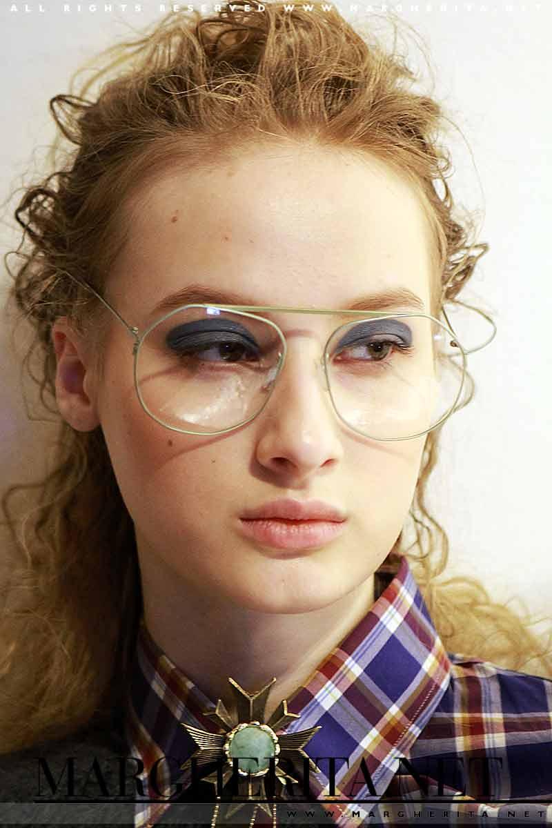 Tendenze trucco autunno inverno 2017 2018 Makeup sfilata Stella Jean Autunno Inverno 2017 2018 - Ph. Mauro Pilotto