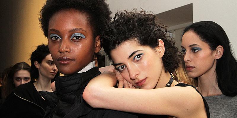 Makeup sfilata Stella Jean Autunno Inverno 2017 2018 - Ph. Charlotte Mesman