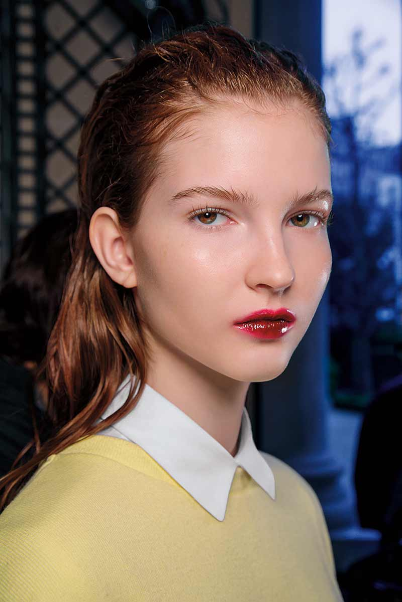 Rossetto rosso. Giambattista Valli, photo: courtesy of M.A.C