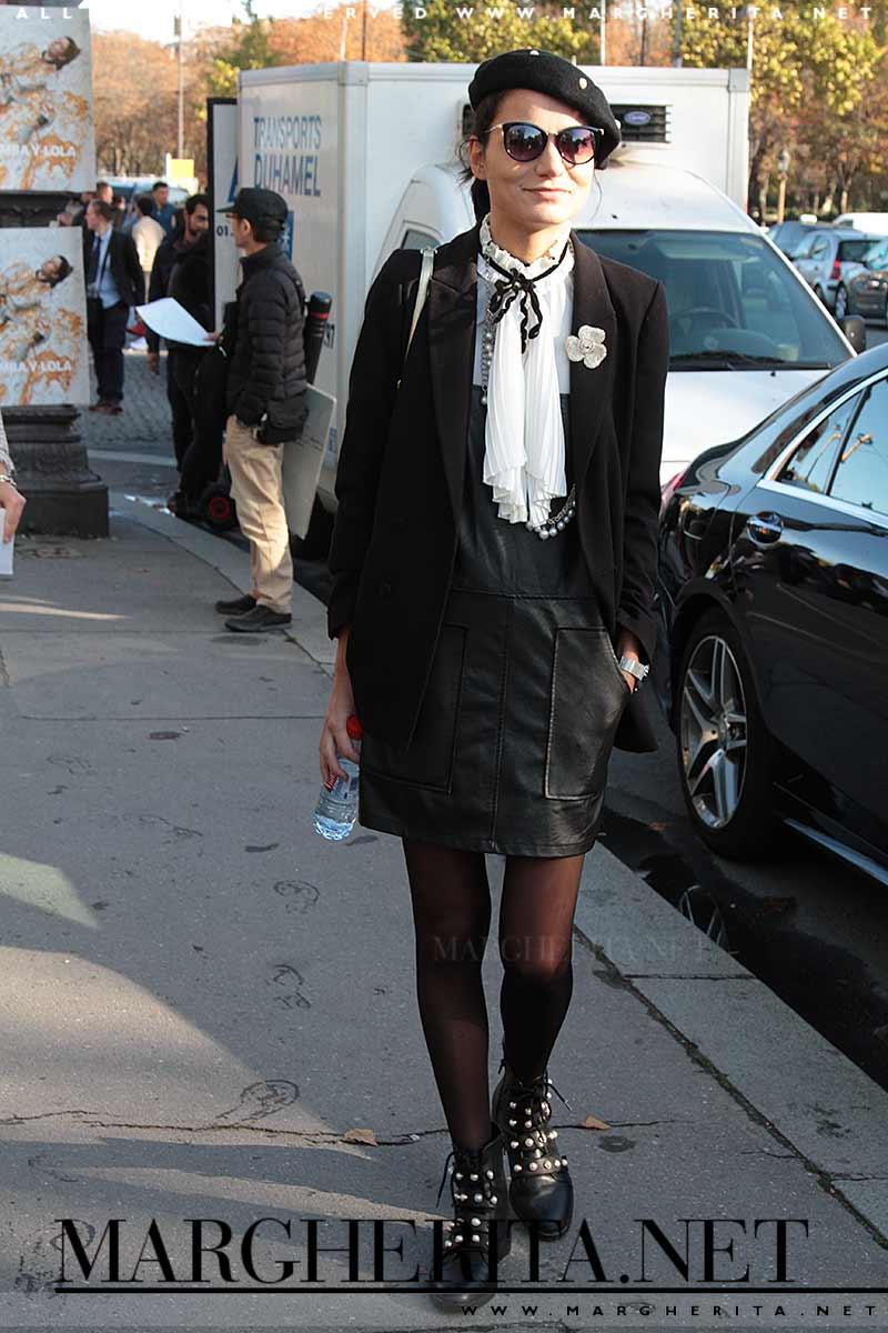Street style moda da Chanel