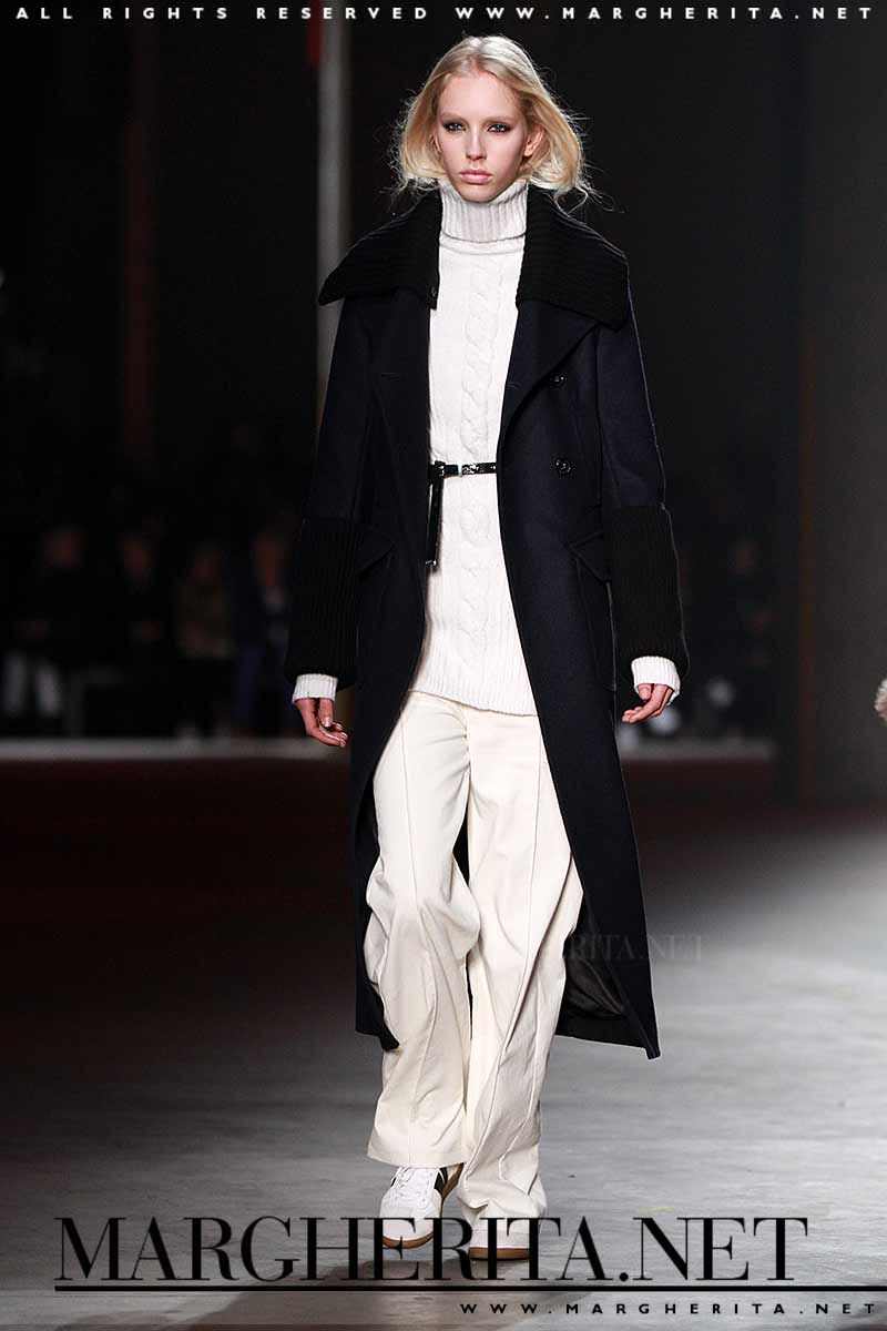 Moda invernale. Knitwear.