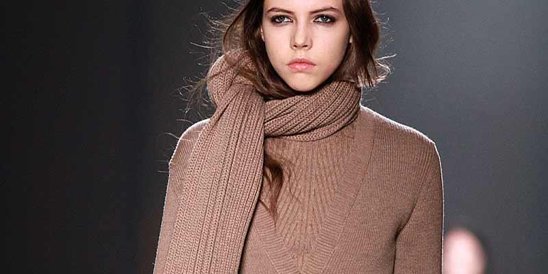Moda inverno 2018. Knitwear.