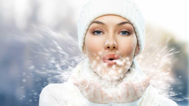 La pelle e il freddo. Come proteggere la pelle dal freddo dell'inverno, e come contrastare arrossamento e screpolature della pelle