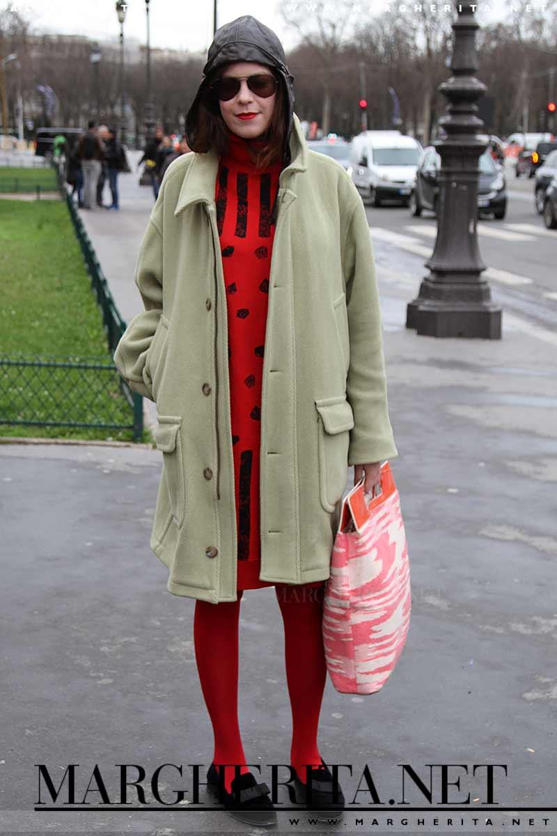 Il rosso. Colore di moda