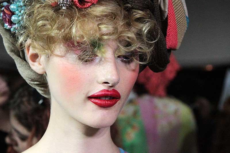 Antonio Marras PE 2018, make-up: Tom Pecheux per M.A.C Cosmetics