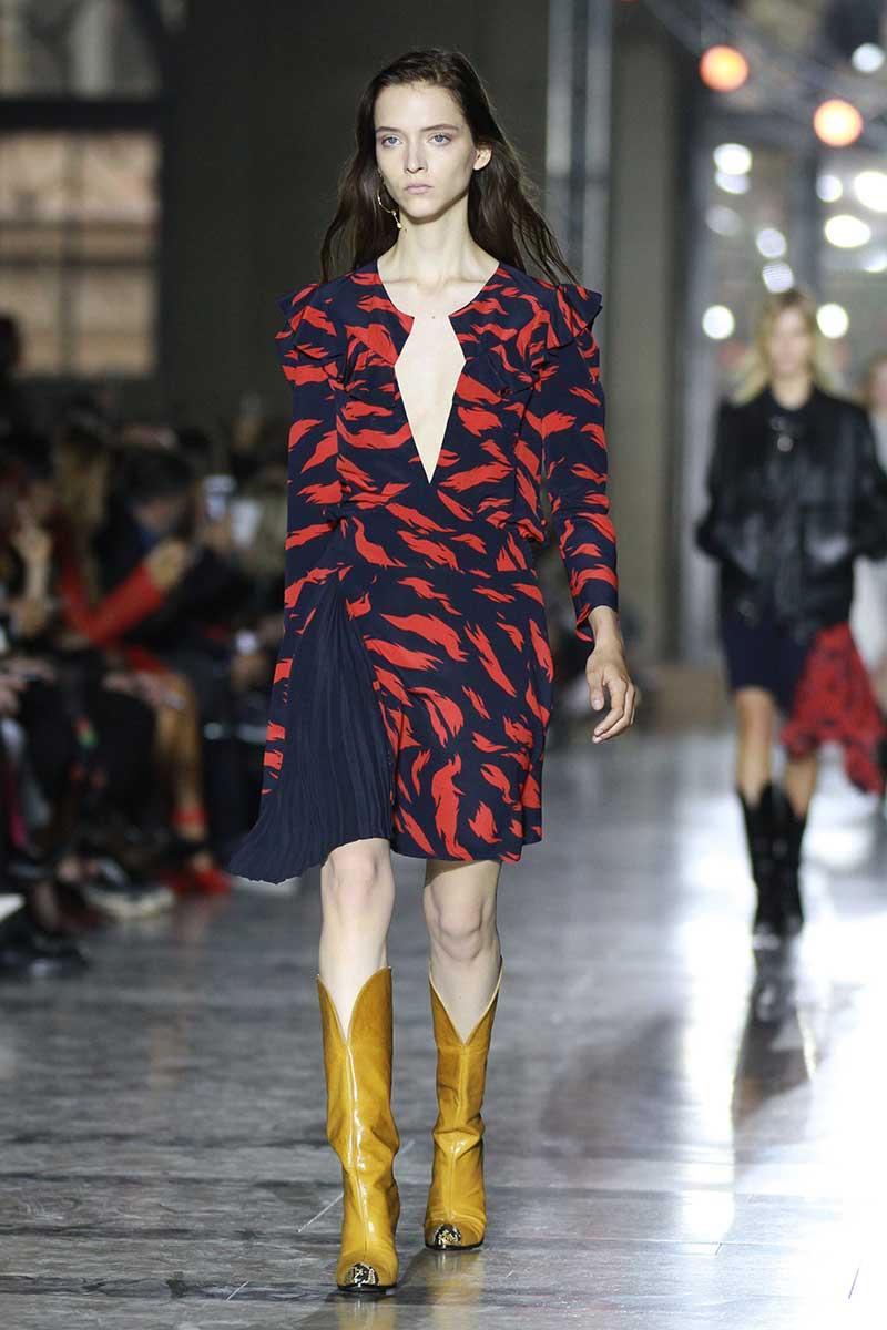 Colore di moda: il giallo. Givenchy. Foto: courtesy of Givenchy