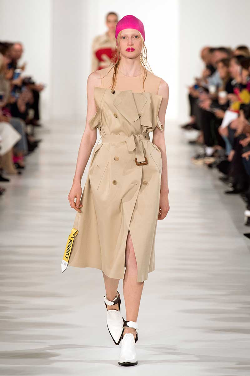 Tendenze moda primavera estate 2018. Il trench coat. Maison Margiela PE 2018, photo: courtesy of MM