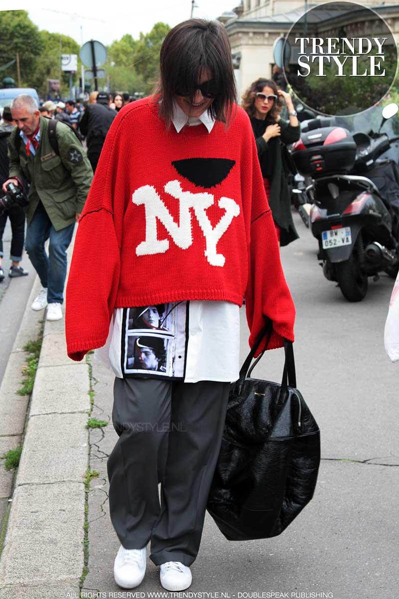 Moda street style 2018. Come indossare un oversize outfit