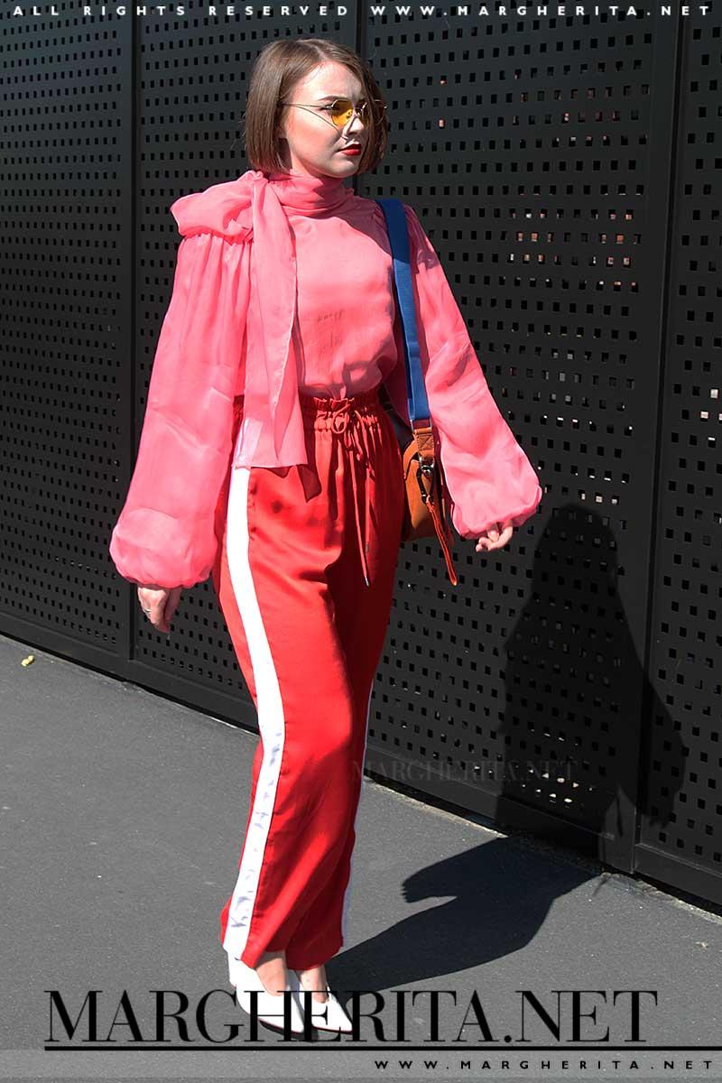 Tendenze moda estate 2018. Il rosa con il rosso