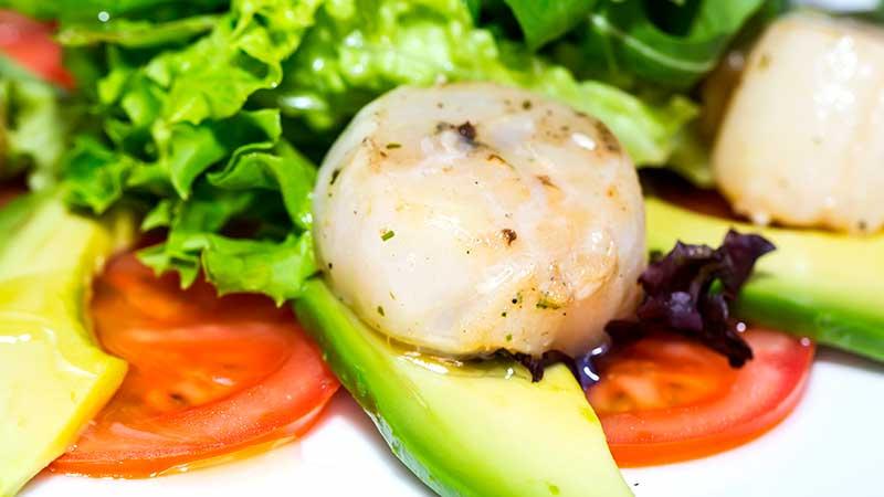 Capesante e salsa di avocado. Le ricette di cucina