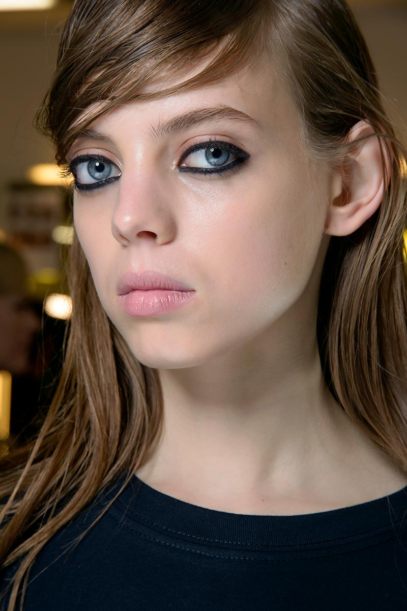 Trucco e idee makeup per l'autunno inverno 2018 2019: eyeliner