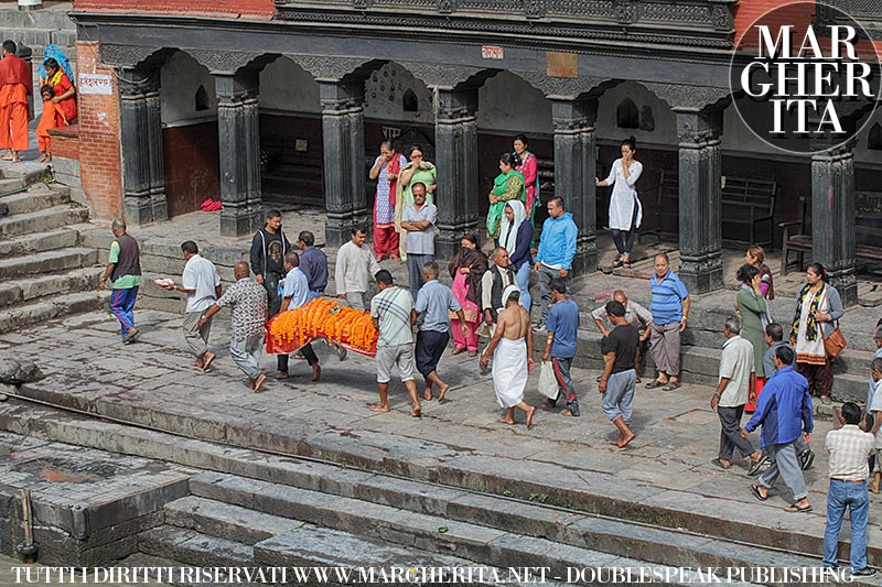 Kathmandu, Nepal. Tempio di Pashupatinath