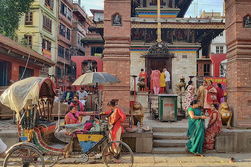 Kathmandu, Nepal. Durbar Square