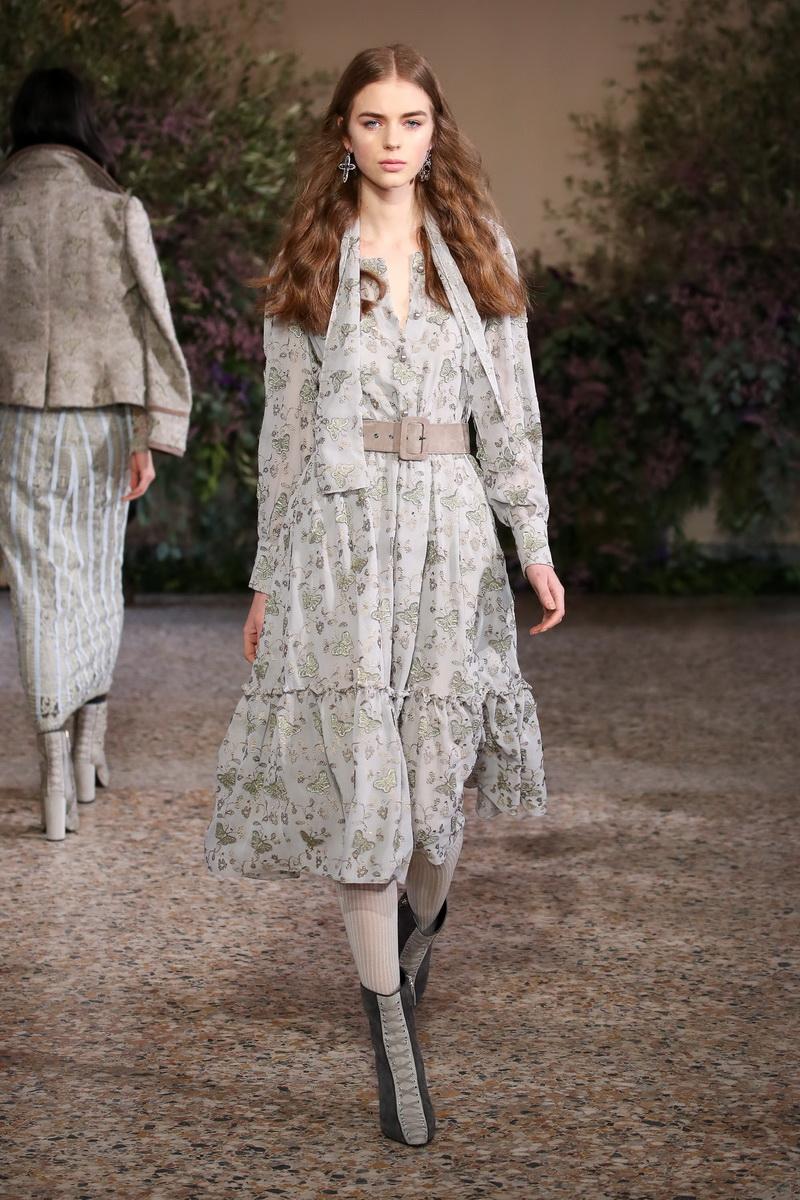 Luisa Beccaria sfilata collezione Autunno Inverno 2018 2019
