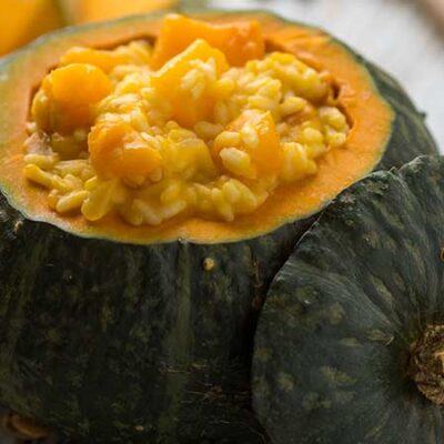 Risotto alla zucca – Le ricette di Halloween