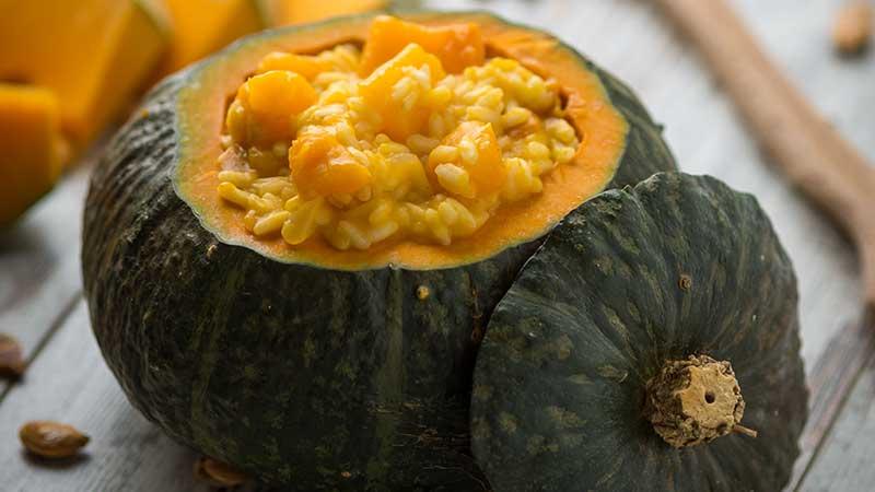 Risotto alla zucca - Le ricette di Halloween