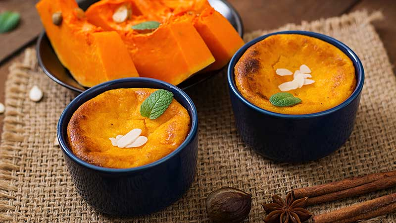 Sformatini di zucca - Le ricette di Halloween