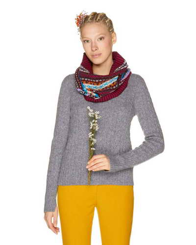 Scaldacollo jaquard Benetton - 25,95 euro - www.it.benetton.com