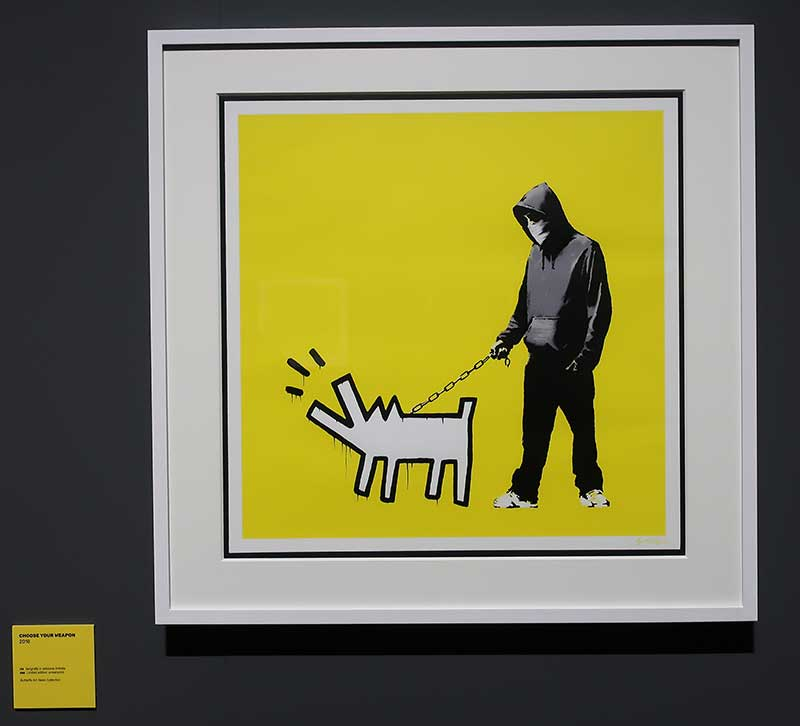 CHOOSE YOUR WEAPON - BANKSY - 2010 - Foto Costanza Cristianini