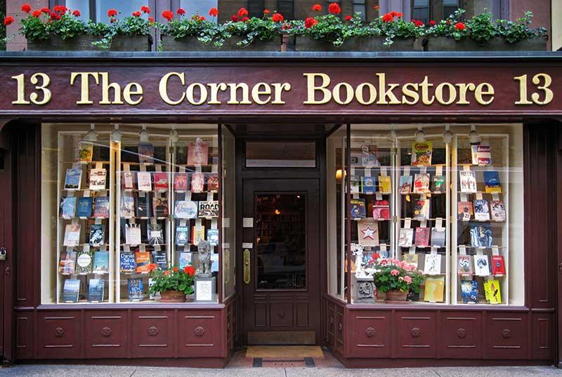 Corner Bookstore tra la 93esima e Madison a New York