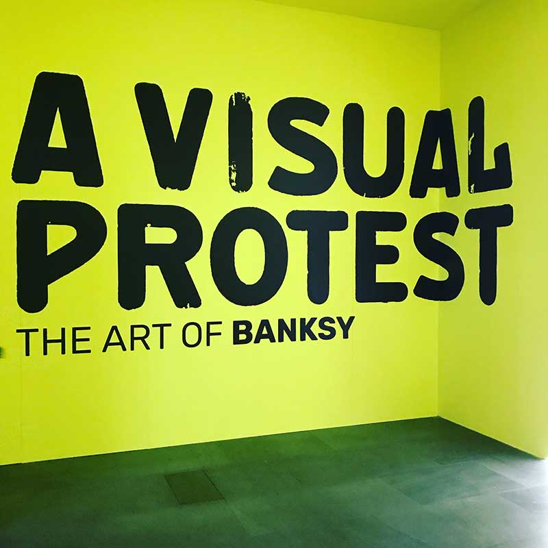 A visual protest: the art of Banksy Mudec - Museo delle Culture Via Tortona, 56 - Milano - Foto Costanza Cristianini