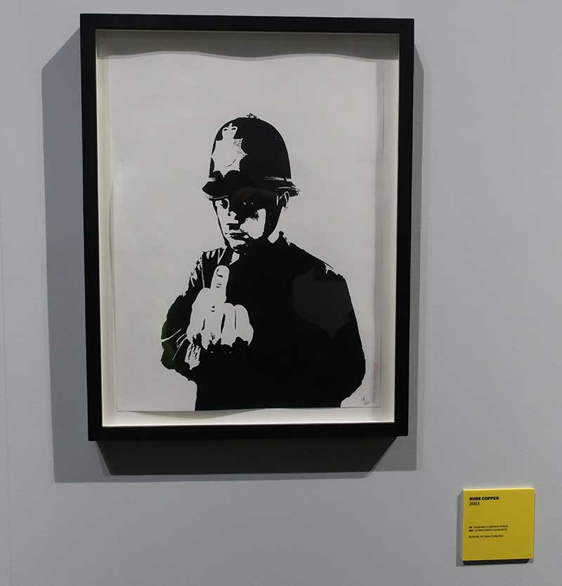 RUDE COPPER - BANKSY - 2003 - Foto Costanza Cristianini