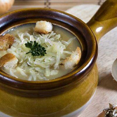 Zuppa di cipolle. Le ricette di cucina di Margherita.net