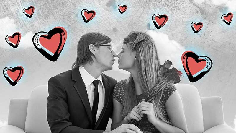 San Valentino, in epoca social
