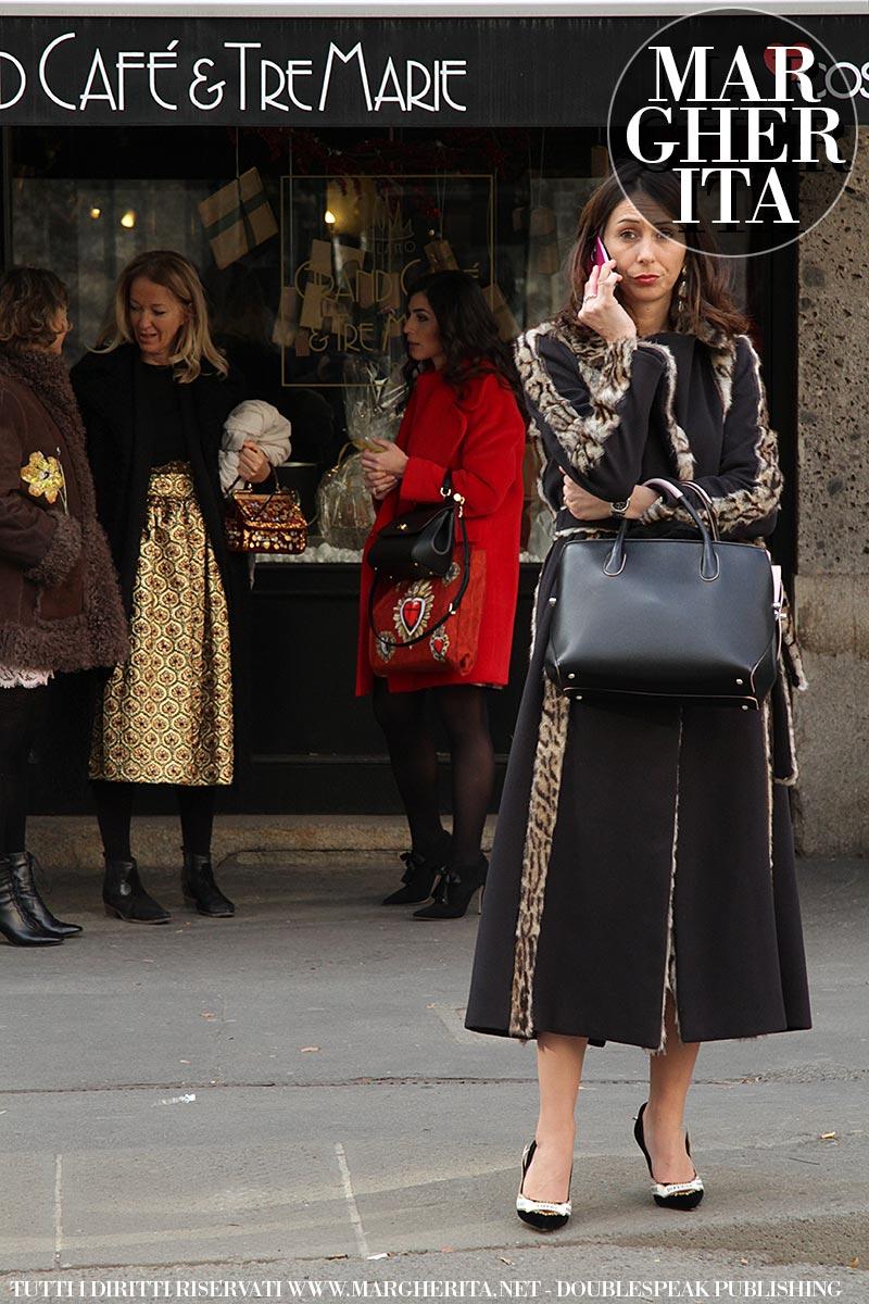 Streetstyle Donna. Milan Fashion Week Uomo AI 2019 2020