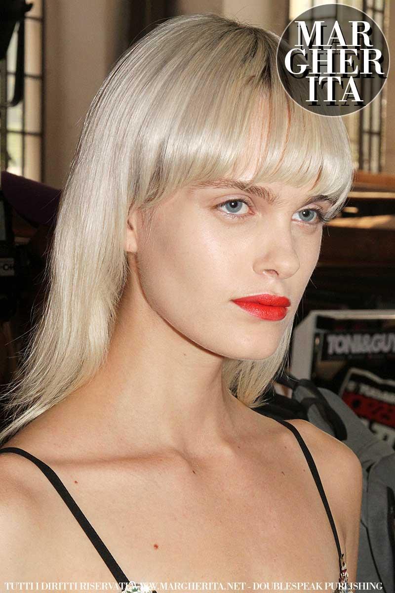 Tendenze frangia. Tagli di capelli con frangia per la primavera estate 2019