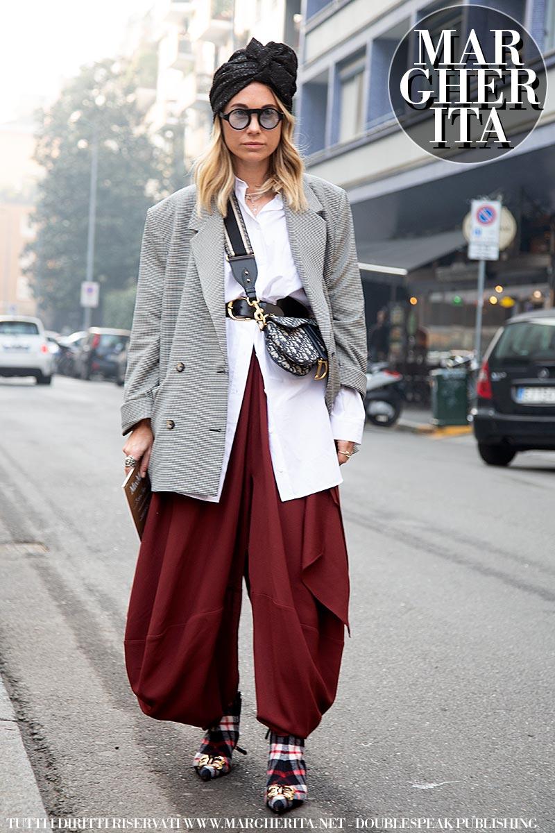 Streetstyle Milan Fashion Week autunno inverno 2019 2020