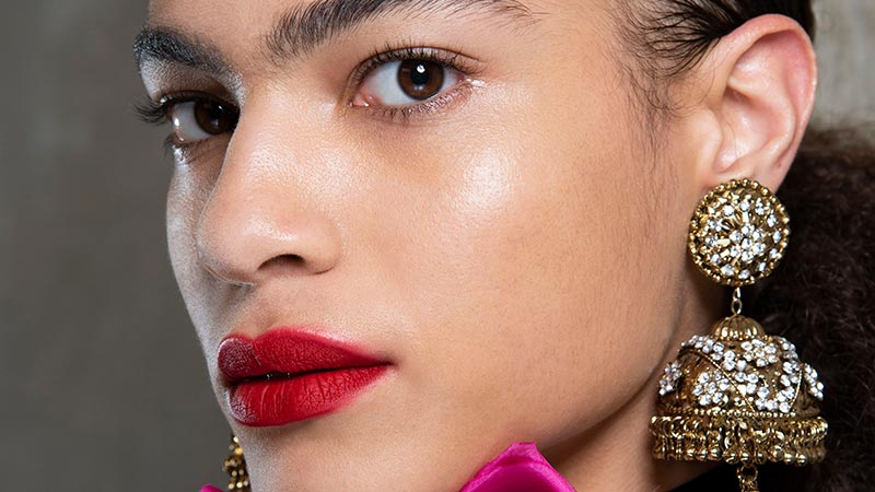 Tendenze make-up PE 2019. Rossetto rosso