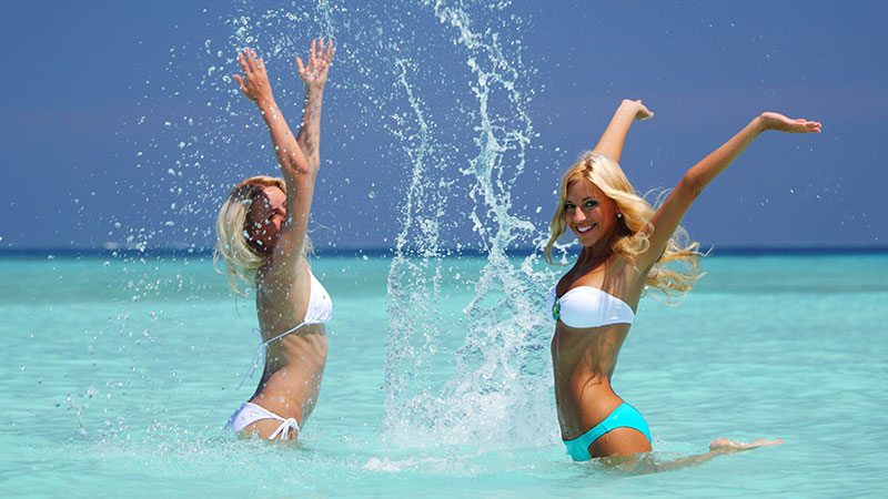 In forma per l'estate. Poche settimane e inizieremo a preoccuparci per come staremo in bikini...