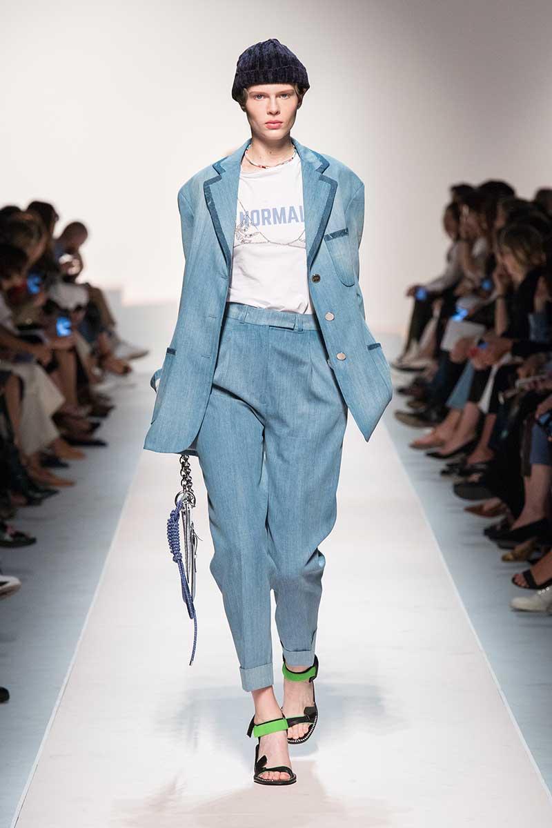 Novità tendenze jeans primavera estate 2020 Ermanno Scervino. estate 2020