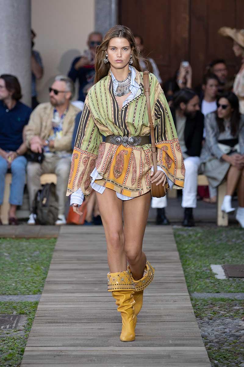 Accessori moda donna primavera estate 2020. Sfilata: Etro Estate 2020