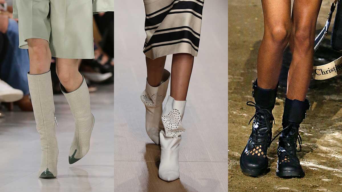 Accessori moda donna primavera estate 2020. Da sinistra a destra: Etro, Genny, Dior