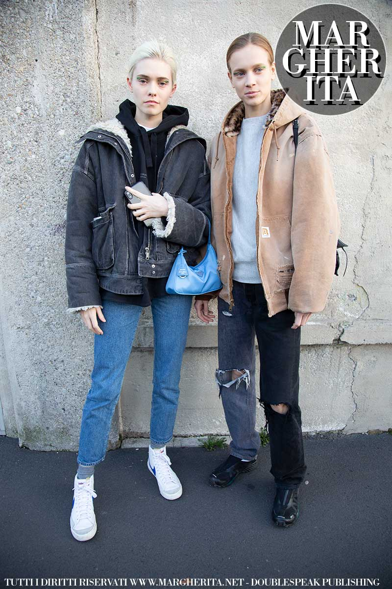 Moda street style primavera estate 2020: come si vestono le modelle! - Foto Charlotte Mesman