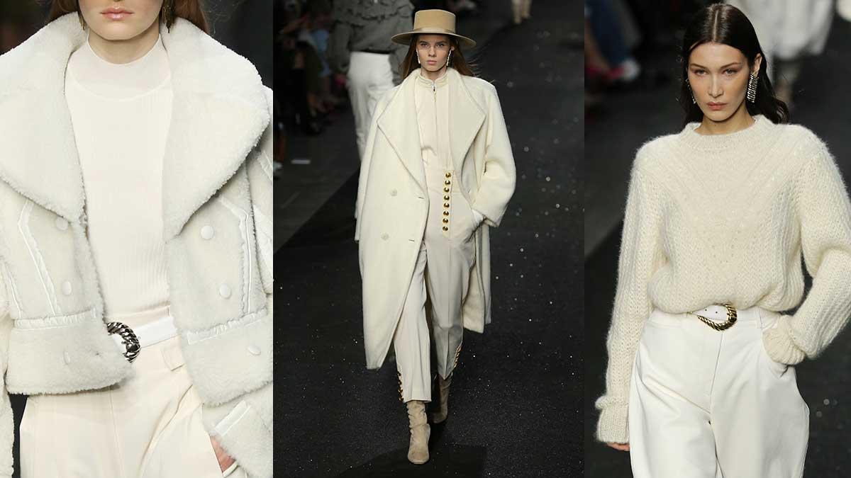 Trend Alert. Il bianco per un look attuale e leggero per la primavera estate 2020. Sfilata: Alberta Ferretti. Foto: Mauro Pilotto