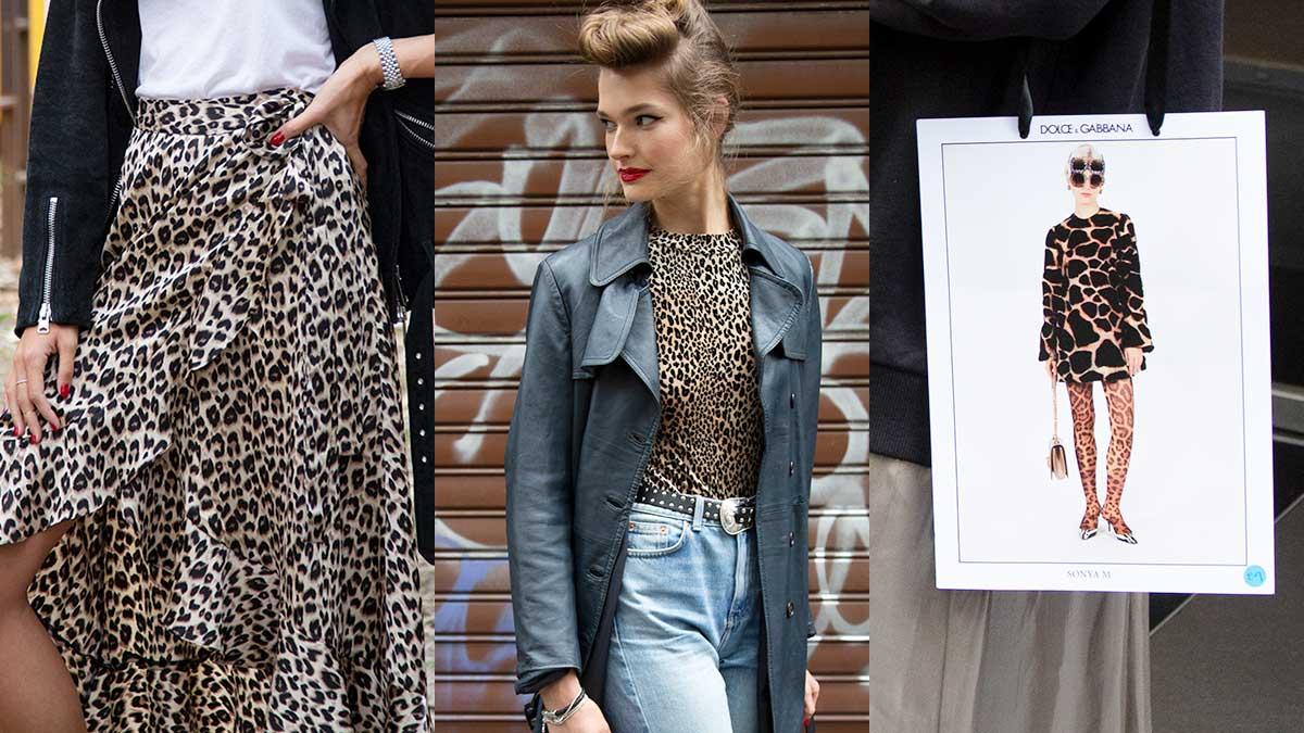 Tendenze moda donna primavera estate 2020. Chen e sarà delle stampe animalier? Street style foto: Charlotte Mesman