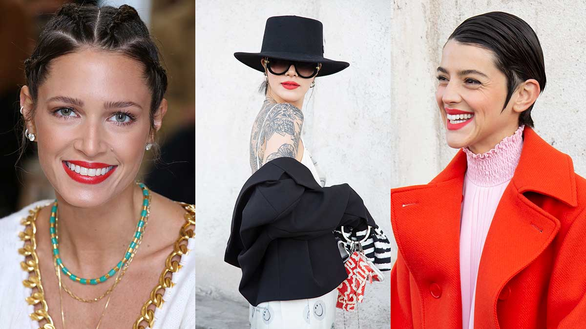 Tendenze trucco e moda estate 2020. Tre look 'da VIP' con il rossetto rosso per l'estate 2020