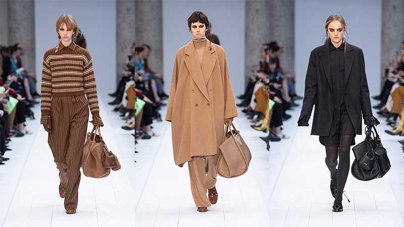 Tendenze moda inverno 2020 2021. Sfilata: Max Mara