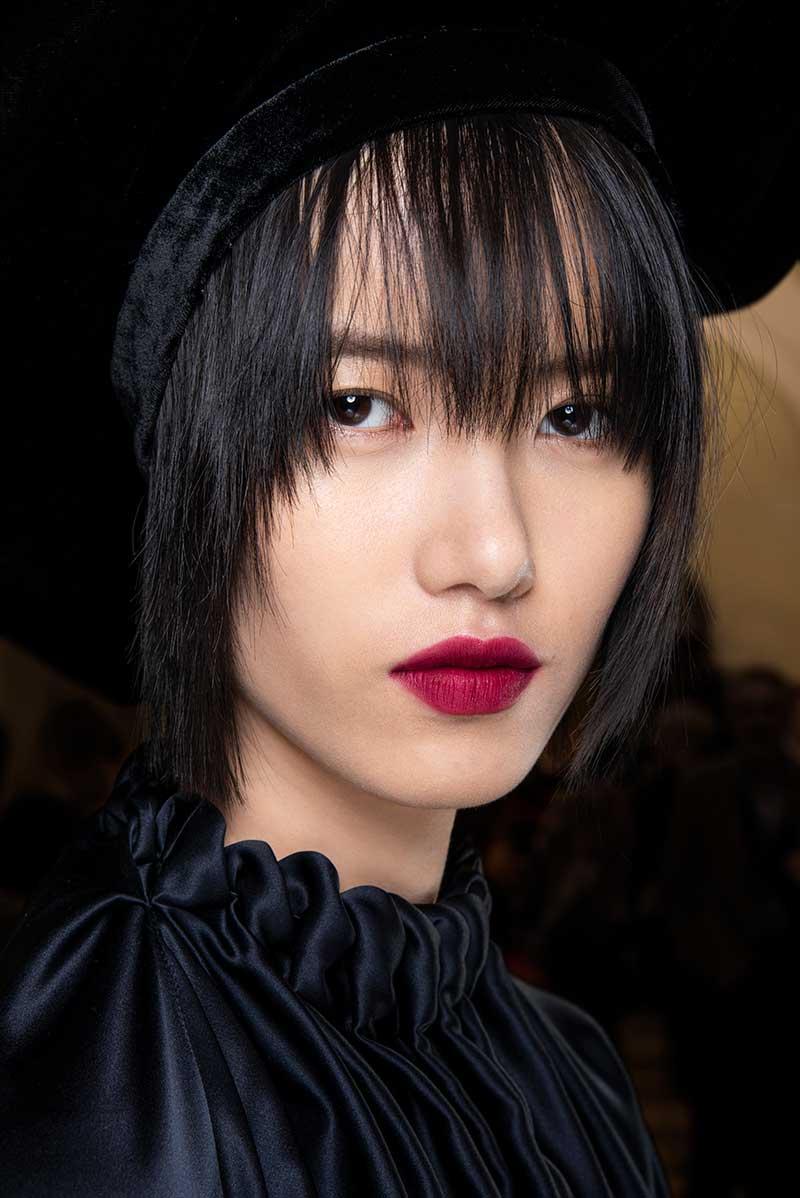 Tendenze trucco autunno inverno 2020 2021. Sfilata: Roksanda. Make-up: MAC. Photo: courtesy of MAC Cosmetics